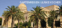 Theater in Marrakesch mit Palmengarten